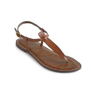 Sam Edelman Gigi Thong Sandal Brown Size 9.5